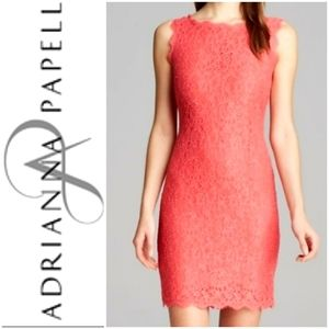 Adrianna Papell  Peony Lace Dress